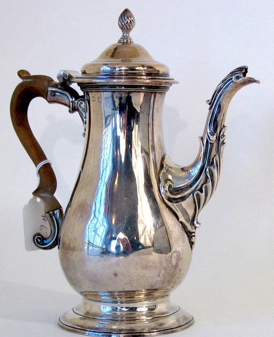 How to restore a Silver Tea or Coffee Pot