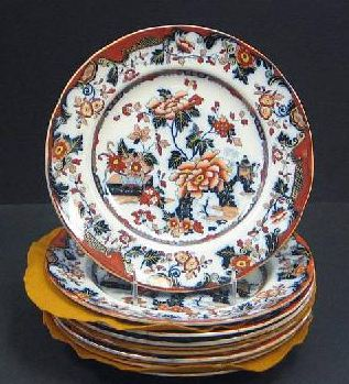 Chinoiserie English Plates marks