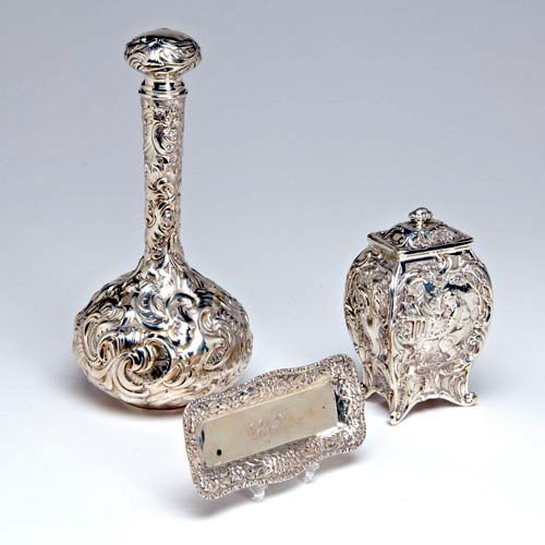 Sterling Silver group by Gorham ca 1890s