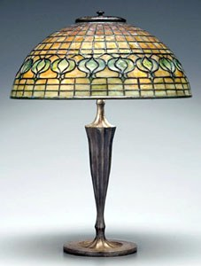 How to restore a Tiffany Bronze Lamp