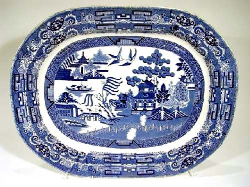 BLUE-WILLOW Pattern