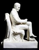 A Victorian Parian Figure of Sir Arthur Wellesley, published by Samuel Alcock & Co., June 18, 1852