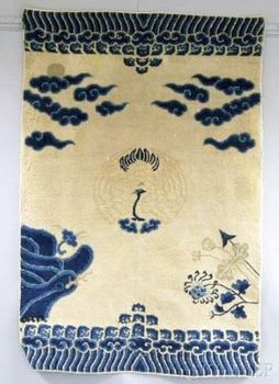 Antique Chinese Rug, late 19th century