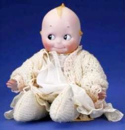 Kestner Rose O'Neill Glass-Eyed Kewpie Doll Germany, ca 1915
