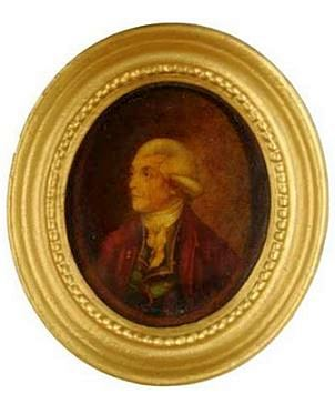 Portrait of Josiah Wedgwood, printed by Richard Clay