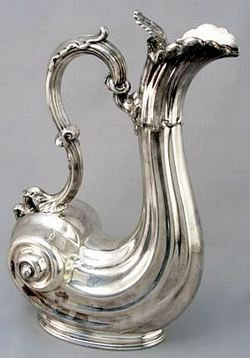 SHEFFIELD SILVERPLATE WINE JUG