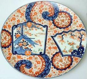 Japanese Imari Porcelain Charger 19thC