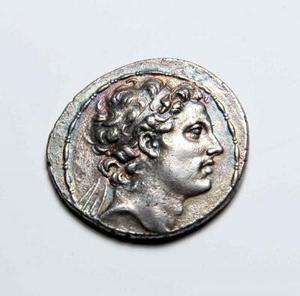 ancient collectible Greek coin