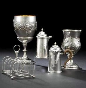 georgian silver sterling group