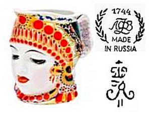 Lomonosov porcelain marks