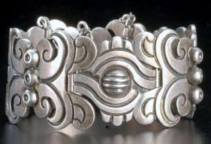 Taxco silver Hector Aguilar bracelet