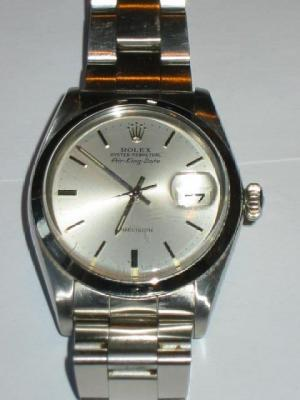 "A GENTLEMAN'S ROLEX OYSTER PERPETUAL ""AIR-KING-DATE"""
