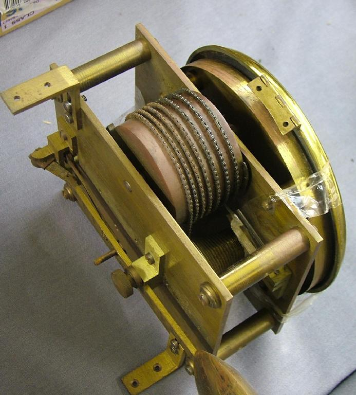 Single fusee bracket clock movement, the
