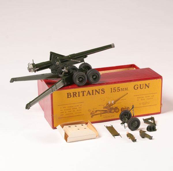 Britains Boxed Artillery 155mm Gun No 2064 Prices And