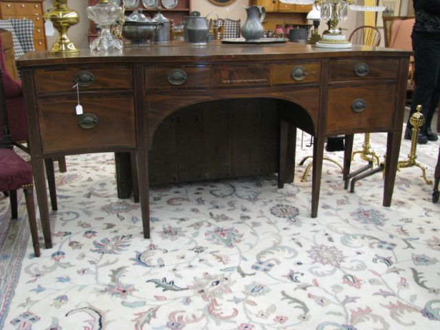 Baker Furniture Co., Banded and Inlaid Mahogany