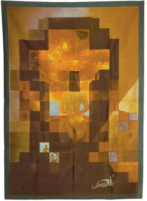 SALVADOR DALI TAPESTRY Limited edition tapestry