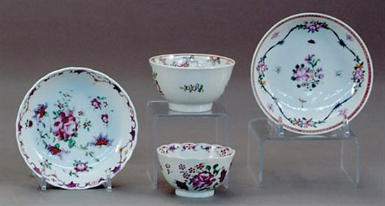 Chinese Export porcelain table articles 18th/19th