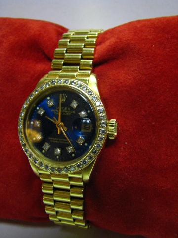 18K yellow gold lady's President Datejust