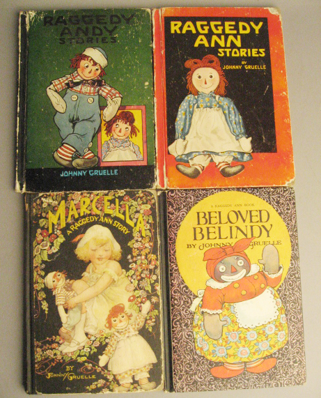 4 Johnny Gruelle Children's Books: