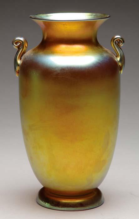 Price Guide For Steuben Aurene Vase Beautiful Steuben Vase
