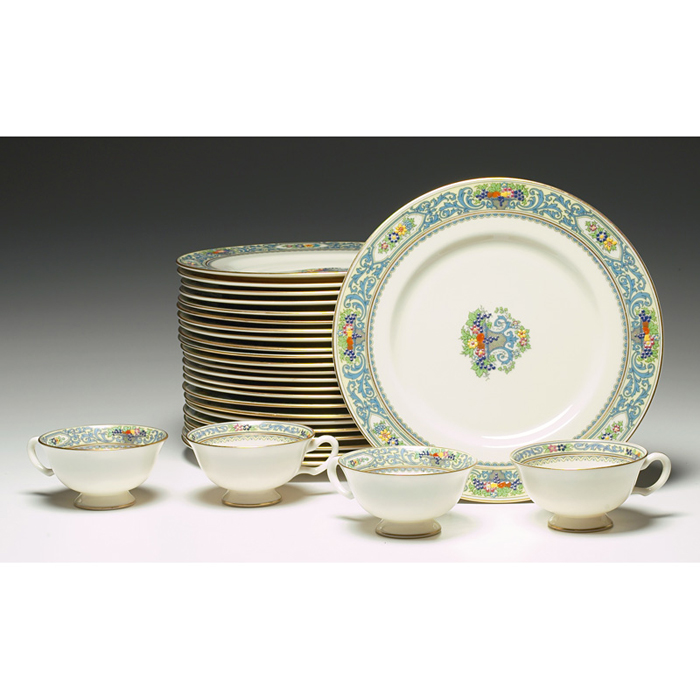 Lenox china, The Autumn and Trent patterns,
