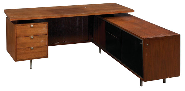 George Nelson Executive desk, by Herman Miller,