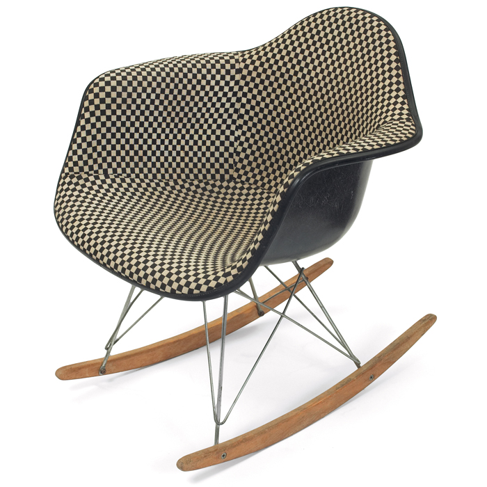 Charles and Ray Eames RAR (rocking chair),