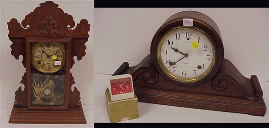 Price guide for Three clocks: the first by Sessions Clock