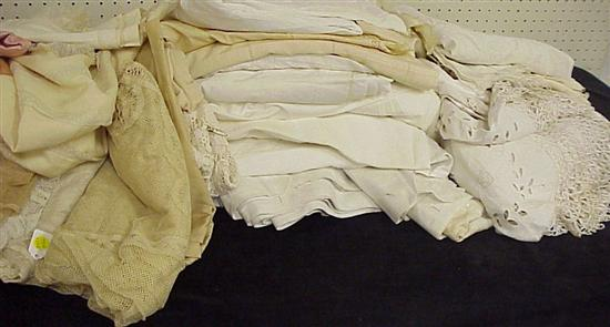 19th/early 20th C. household textiles: a