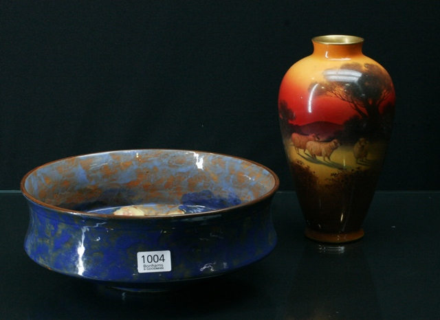 Price Guide For A Royal Doulton Vase Together With A Royal