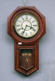 Price Guide For A Cedar Wall Clock By James C Huntington