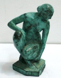 Drago Cherina (born 1949), Seated Figure.
