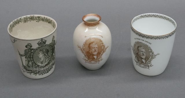 Three various Royal Doulton commemorative