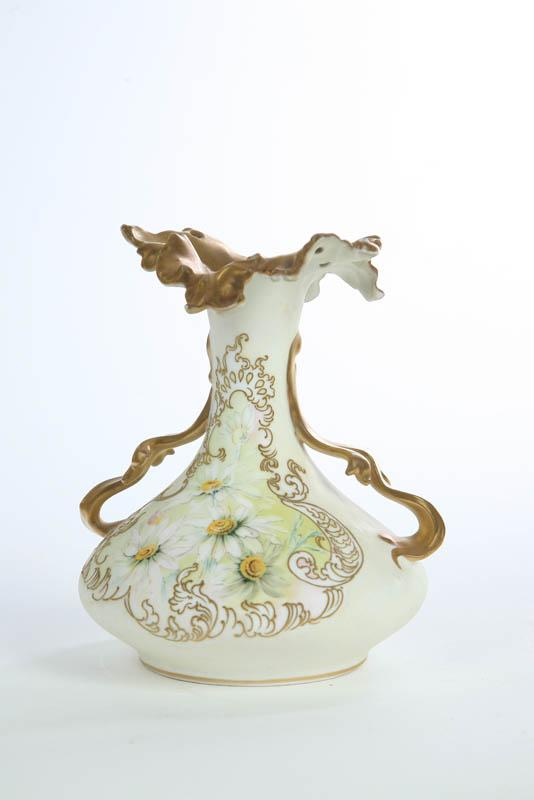 Price Guide For Pairpoint Limoges Vase Squat Form Vase Having