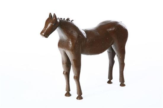 FOLK ART HORSE. American, early 20th century,