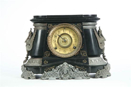 ANSONIA MANTLE CLOCK. Eight day time and