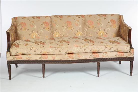 Price Guide For Federal Style Sofa American Early 20th