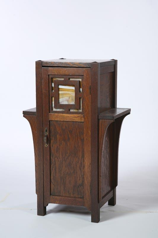 ARTS AND CRAFTS SMOKING STAND. American,