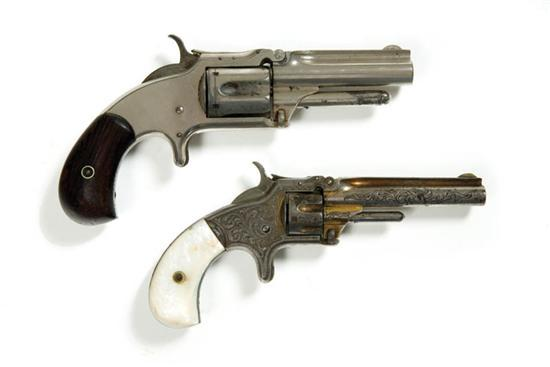 Price guide for TWO EARLY SMITH & WESSON REVOLVERS  American,