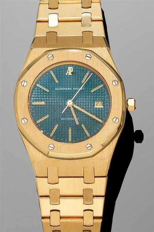 GOLD GENTLEMAN'S WRISTWATCH, AUDEMARS PIGUET,