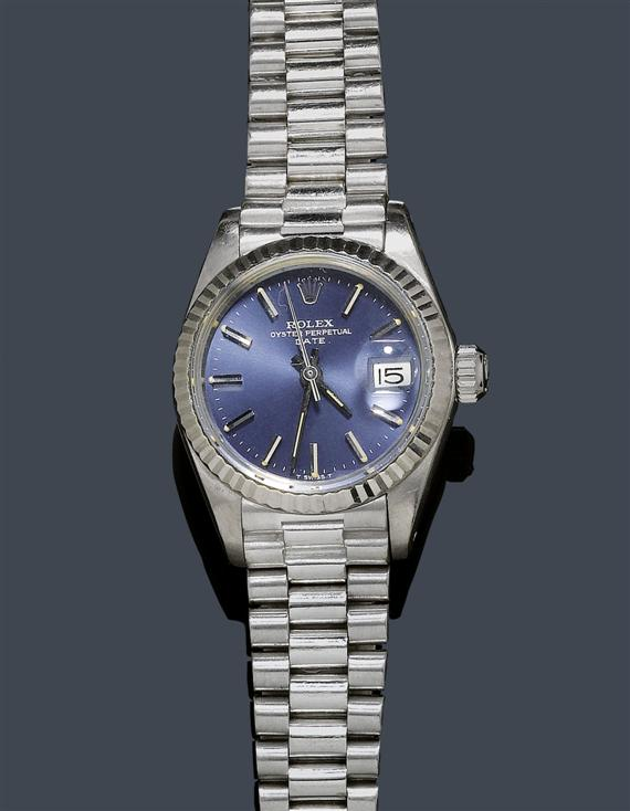 LADY'S WRISTWATCH ROLEX OYSTER DATE, 1980s.