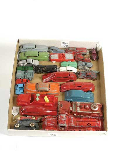 American unboxed diecast and rubber vehicles