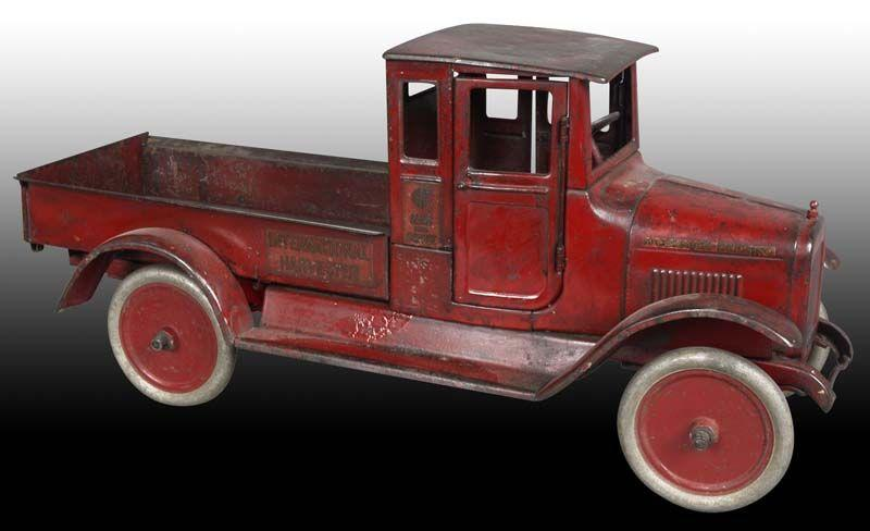 Pressed Steel Buddy L Red Baby Toy Truck