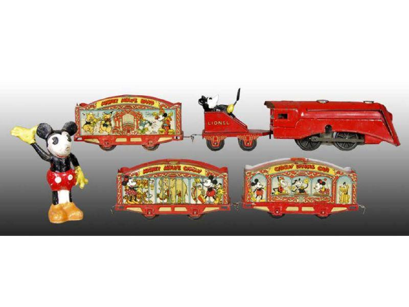 Lionel Walt Disney Mickey Mouse Circus Train