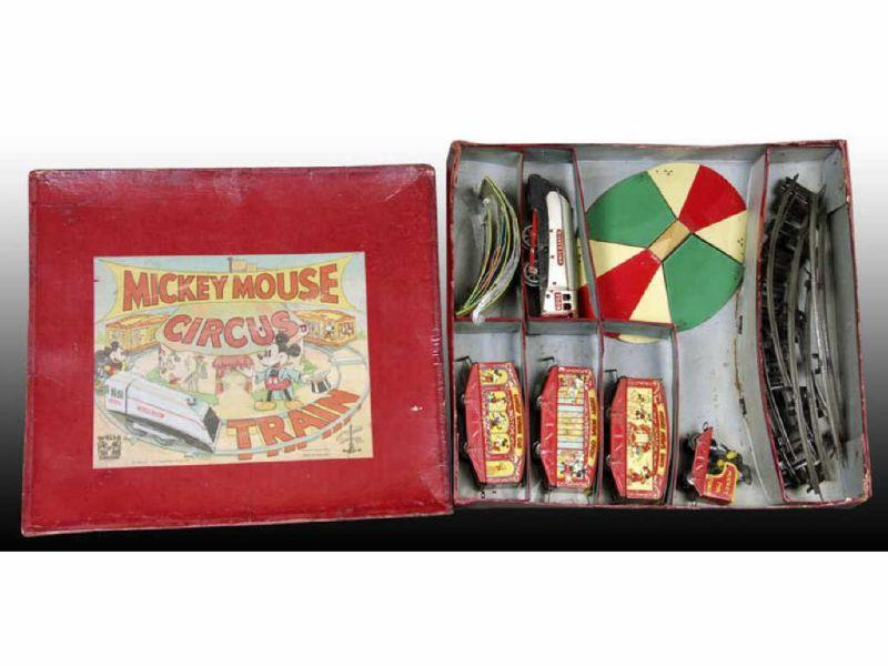 Mickey Mouse Circus Train Boxed English Set