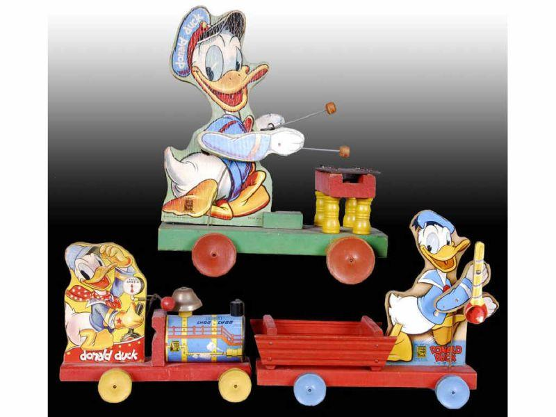Fisher-Price Walt Disney Donald Duck Toys.