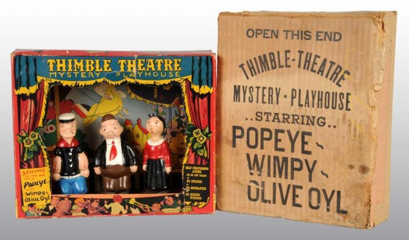 Popeye Ramp Walkers & Thimble Theater in
