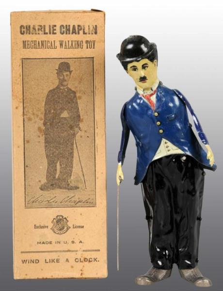 Price Guide For B Amp R Charlie Chaplin Walker Toy In Orig