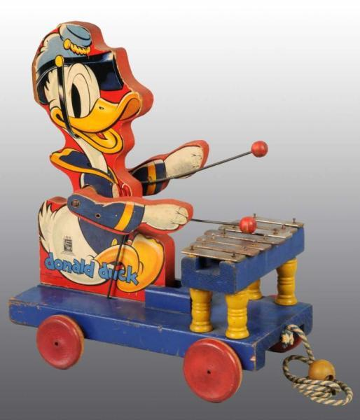 Fisher Price No. 185 Donald Duck Xylophone