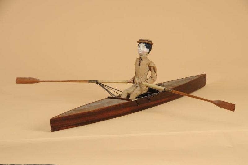 Incredible Mechanical Skull and Oarsman Toy